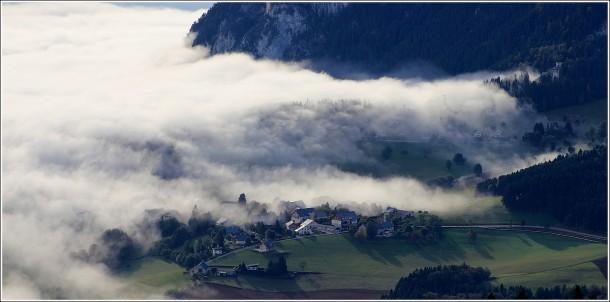 Mer de nuages - Saint Nizier du Moucherotte - 1er octobre 2013