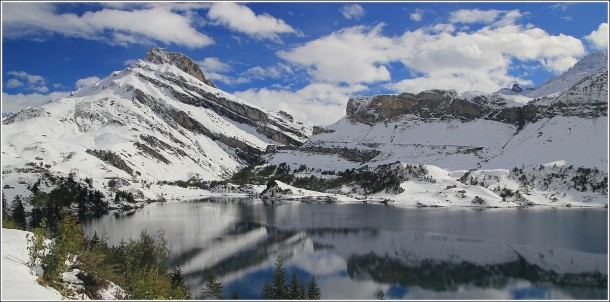 Lac de Roselend - 13 octobre 2013
