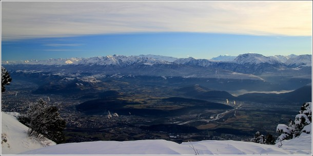 Belledonne depuis Lans en Vercors - 27 decembre 2013