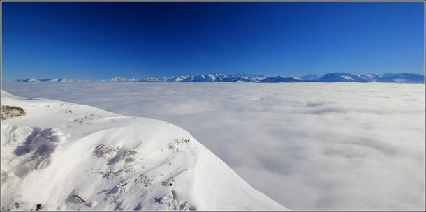 Mer de nuages depuis Lans en Vercors - 1er decembre 2013