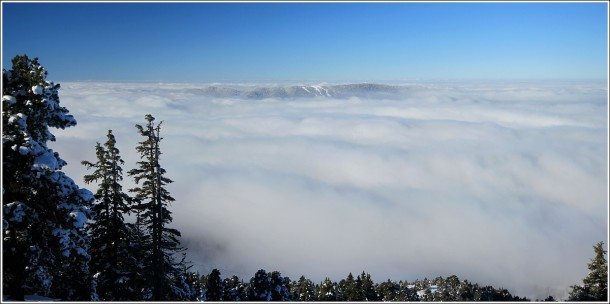 Mer de nuages depuis Lans en Vercors – 1er decembre 2013
