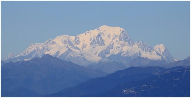 Lans en Vercors - 18 octobre 2014 - Zoom sur le Mont Blanc