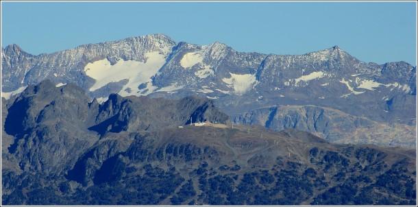 Lans en Vercors - 18 octobre 2014 - Zoom sur Chamrousse et le massif des Grandes Rousses