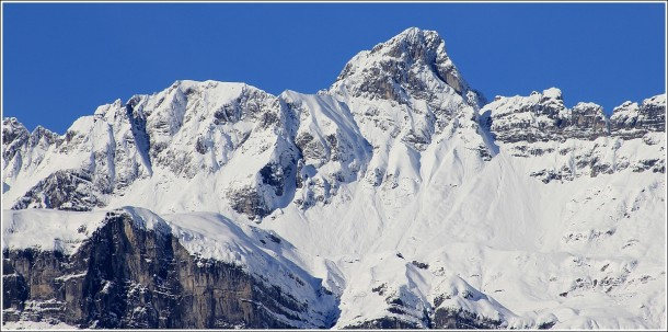Massif des Aravis depuis Passy - 19 novembre 2014