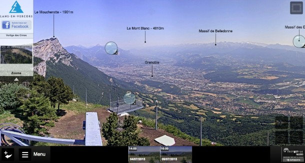 Webcam_Panoramique_Vercors_Grenoble