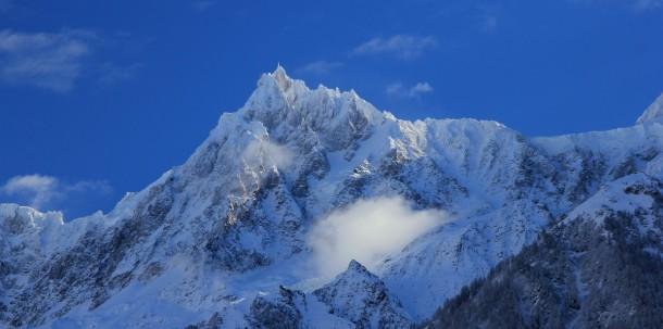 Mont Blanc - Aiguille du midi - 22 novembre 2015