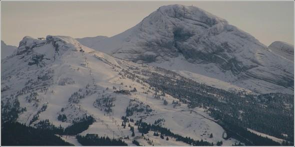 Pistes de ski de Villard de Lans - 21 octobre 2010