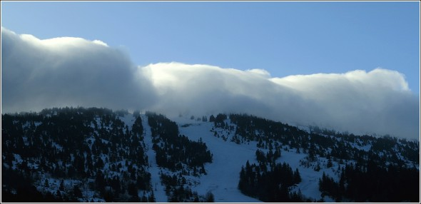 Pistes de ski de Lans en Vercors - 23 mars 2010